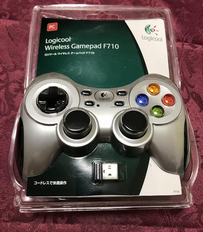 F710ゲームパッド