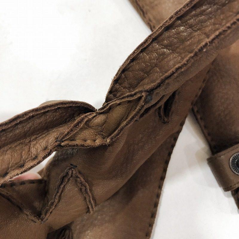 DENTSの手袋の指のまた部分の縫い目