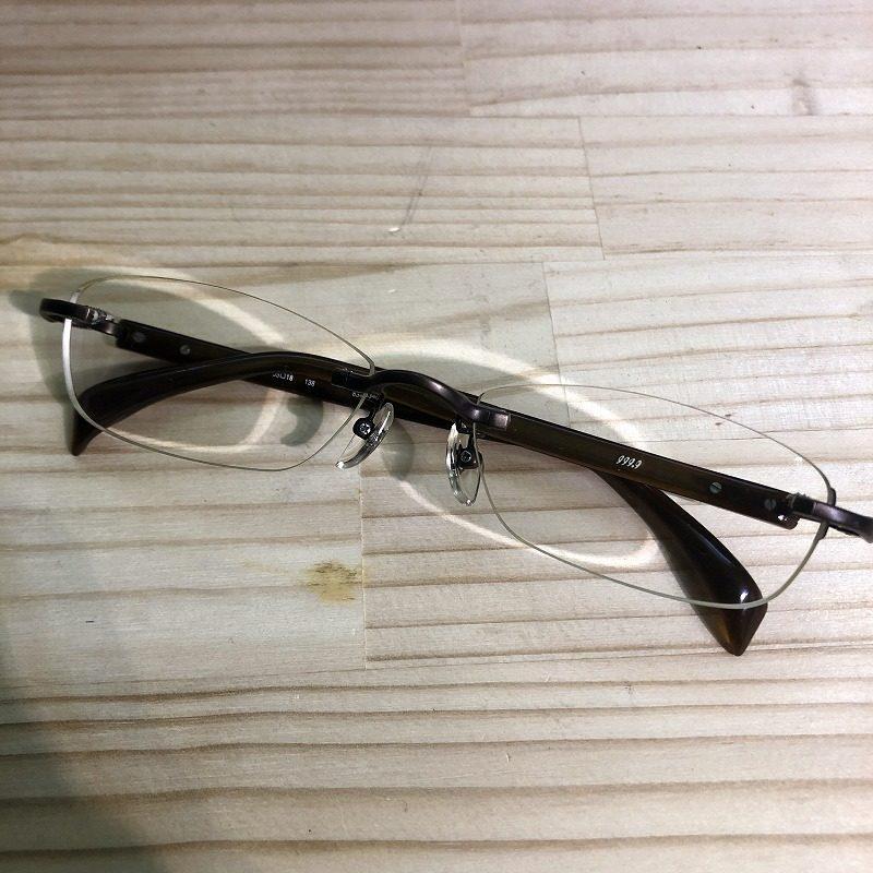 リムレス眼鏡